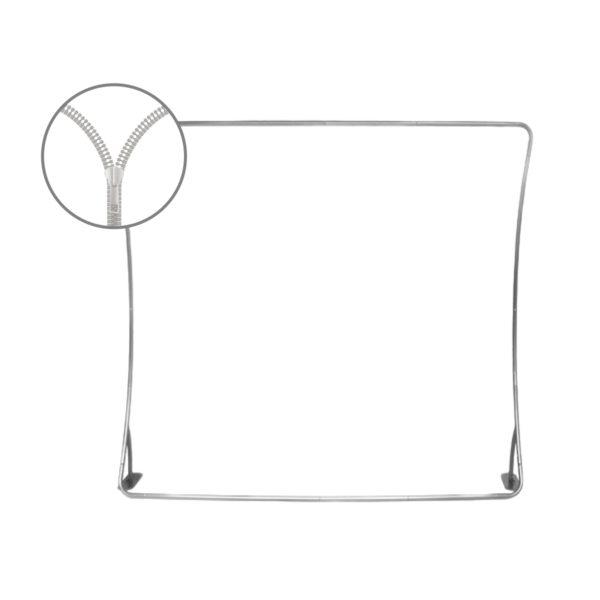 Perete textil in forma de arc, C