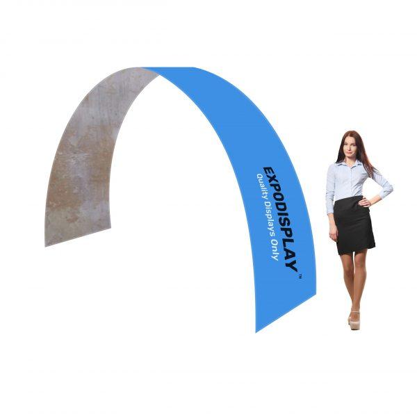 Pop-up textil arcada curb